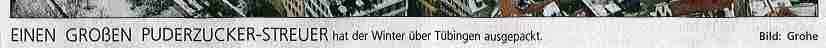 Typographieverbrechen im Schwäbischen Tagblatt vom 8.1.2009